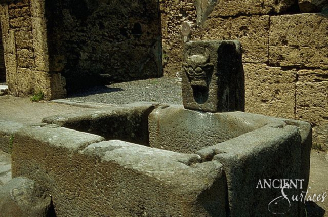 Stone Block Fountain
