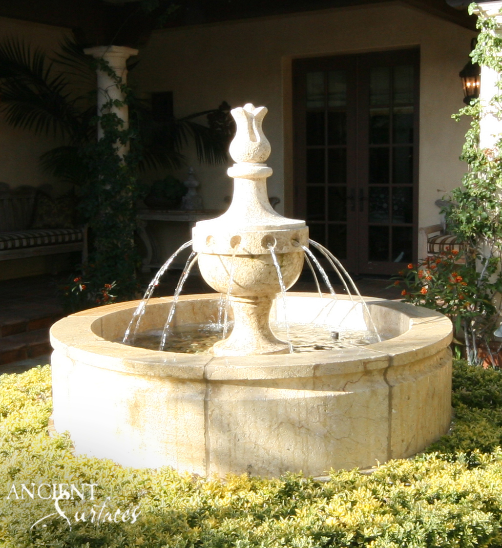 Pool Tile Water Fountain : Summertime and the livin is easy water sun a